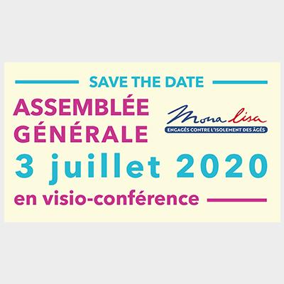 Le 3 juillet 2020 aura lieu l'Assemblée Générale MONALISA