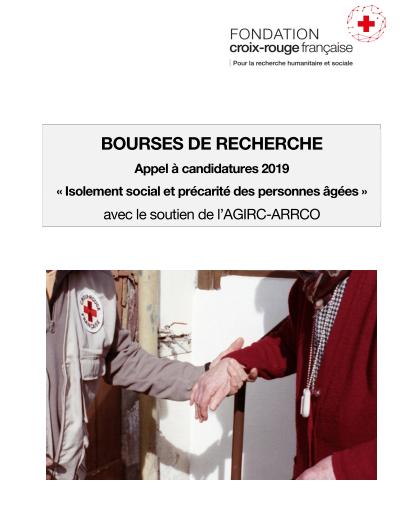 La Fondation Croix-Rouge française lance un appel à candidature pour lutter contre l'isolement social et la précarité des personnes âgées