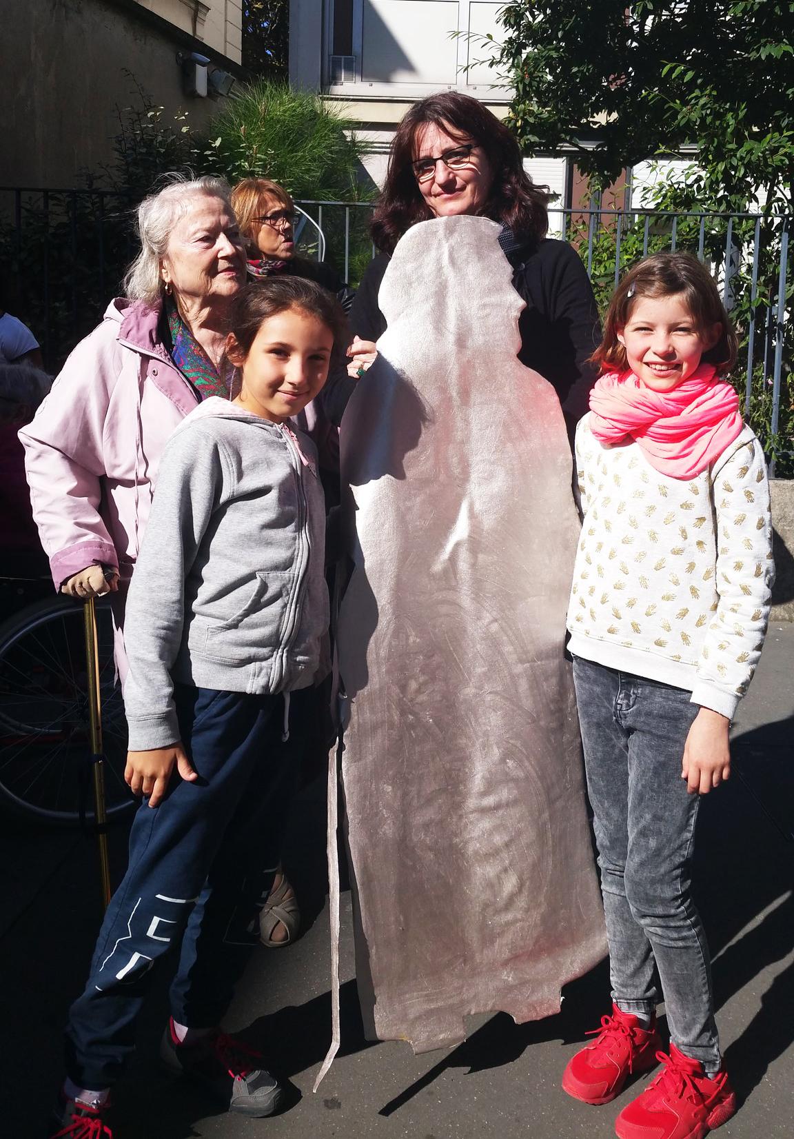 Silver power dans les rues du 19e arrondissement de Paris
